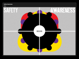 Safety Awareness - Title Screen